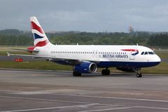airbus A320 G-EUYA British Airways - Edinburgh Airport 14/6/18