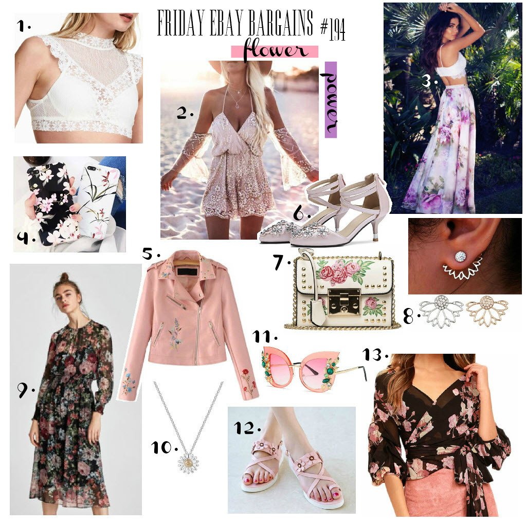 Floral print eBay