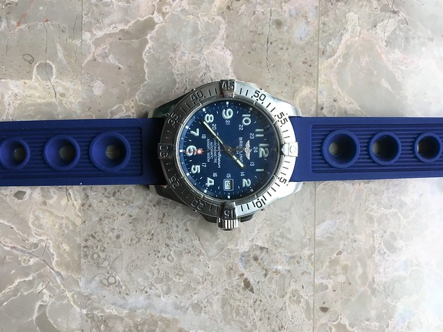 Breitling SO Blue Band