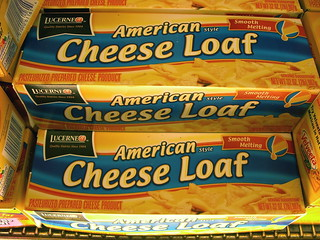 American cheese loaf