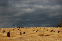 bales & clouds