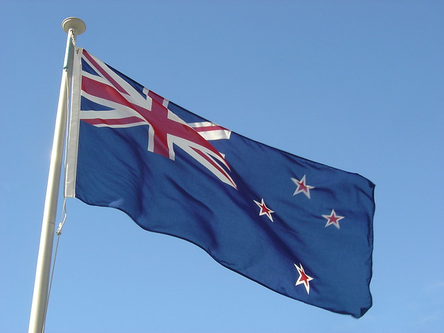 New Zealand Flag, Beehive from Flickr via Wylio