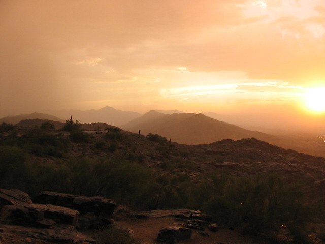Duststorm vista