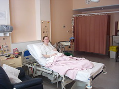 Beck in Hospital.