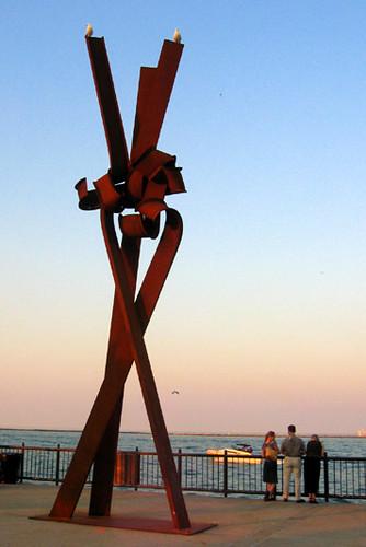 Chicago outdoor sculpture