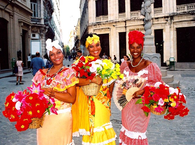 National Costume of Cuba http://www.flickr.com/photos/herschell/230063988/
