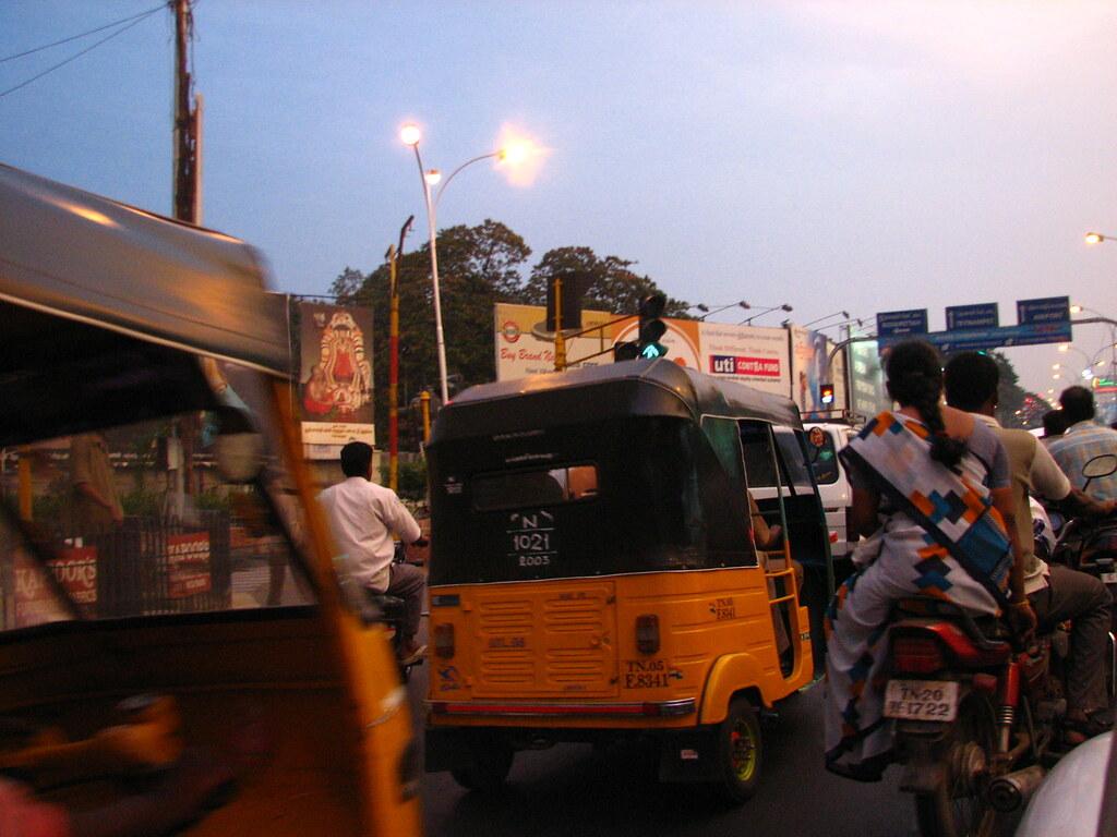 Chennai Traffic Jam