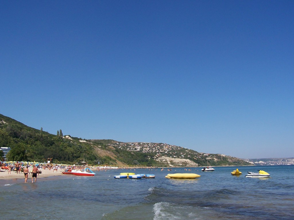 пляж Albena