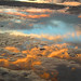 Reflected sunset, Port Aransas by Gruenemann