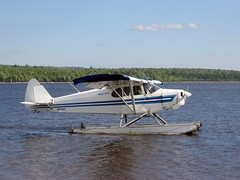 aviation, airplane, propeller driven aircraft, wing, vehicle, light aircraft, seaplane, ultralight aviation,