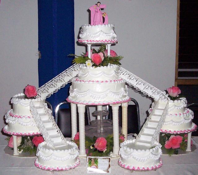 Paris Quinceanera Cakes