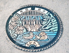 Sagamiko sewer cover