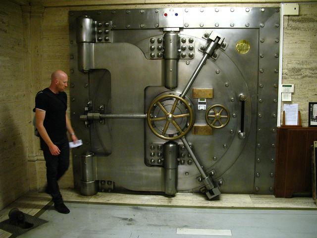 Midland Bank safe