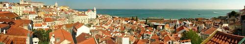 Lisboa - Mirador de Santa Luzia (22 mil visitas)