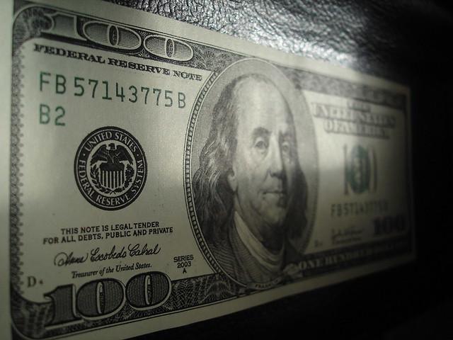 Macro 0ne hundred Dollars