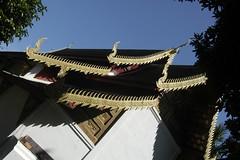 Temple roofline
