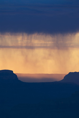 rain on the canyon