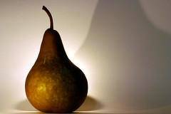 yellow, pear, produce, fruit, food, close-up, still life photography, still life, gourd,