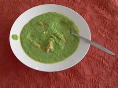 green sauce, food, dish, soup, cuisine,