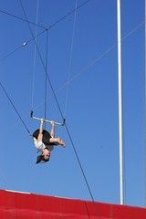 adventure, sports, performance, blue, sky, circus,