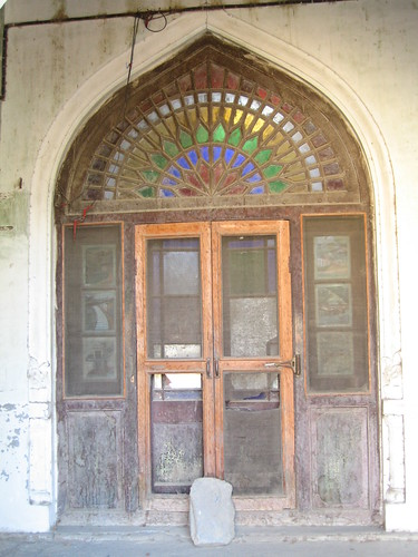 Ornate doorway in Chitral Fort