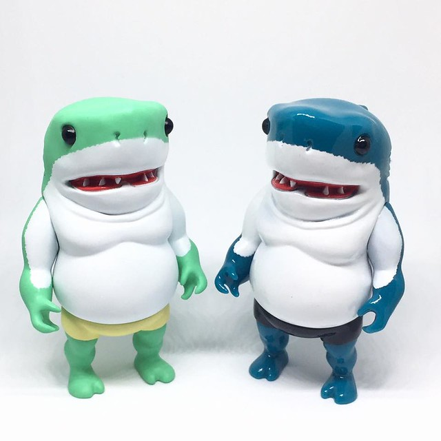 TOYSOUL 2016 Momoco Studio 毛毛二【萊姆色、首刷限定色小鯊童】咱們香港見!!