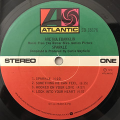 ARETHA FRANKLIN:SPARKLE(LABEL SIDE-A)