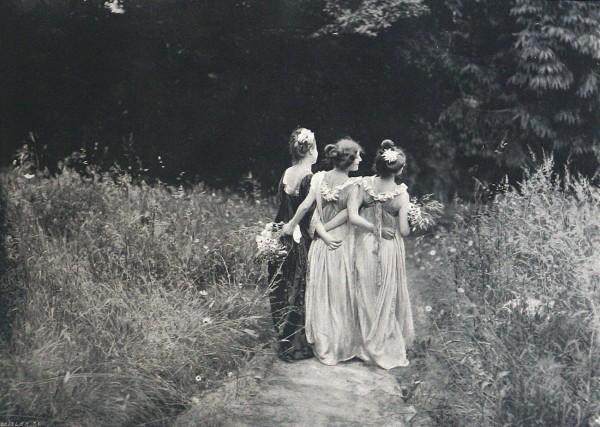 Constant Puyo, Au Jardin Fleuri ,1899