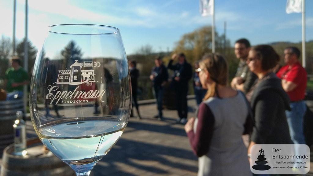 Begrüßung zum Vinocamp Rheinhessen 2018 im Weingut Eppelmann, Stadecken