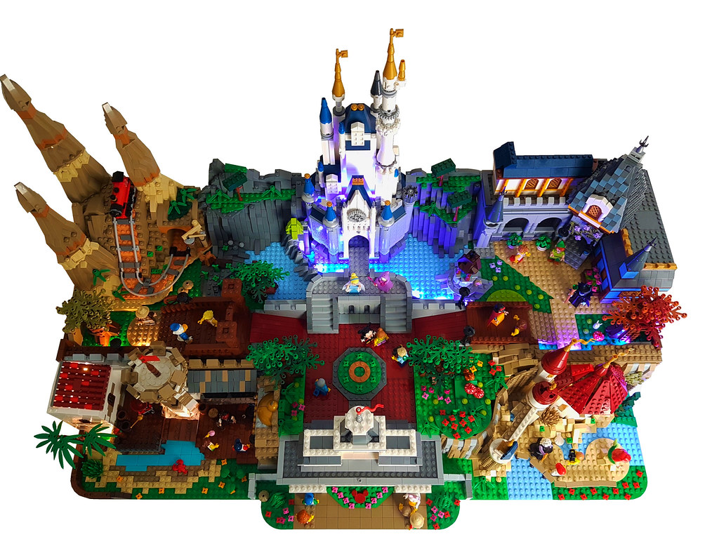 LEGO Magic Kingdom Aerial View