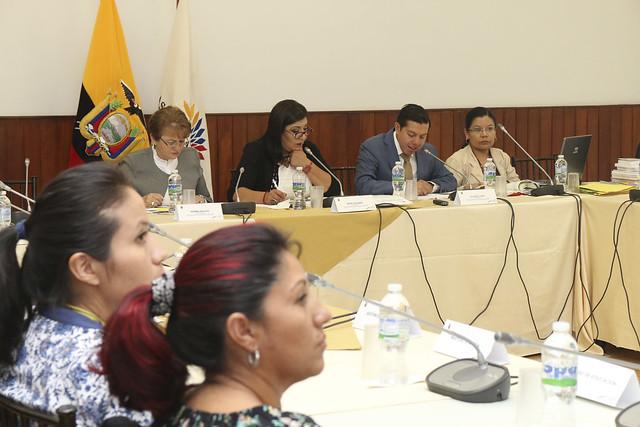 SESIÓN DE LA COMISIÓN ESPECIALIZADA OCASIONAL AAMPETRA QUITO 16 ABRIL DE 2018