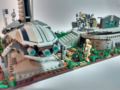 Lego Star wars moc: Grievous command post