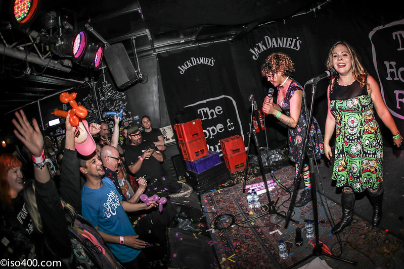 Daphne and Celeste at the Brighton Hope 30th Mar 2018 pic by mike burnell-1901