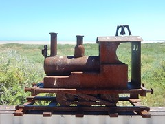 Rusty Old Model Train