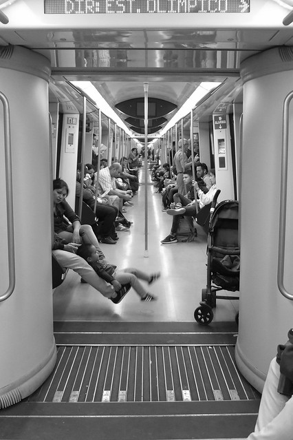 Metro 7 Line, Madrid, Spain