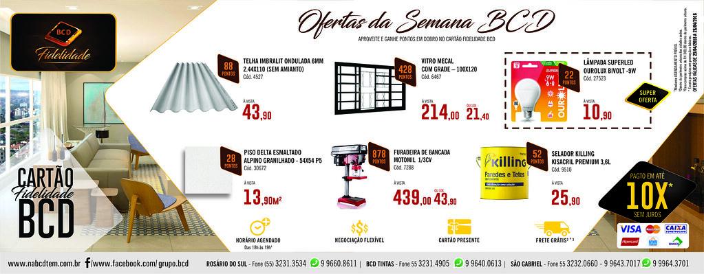 Confira as ofertas da próxima semana na BCD São Gabriel