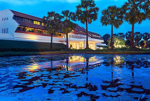 アフタヌーンティーで人気のホテル ル メリディアン アンコール