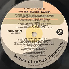 SON OF BAZERK:BAZERK, BAZERK, BAZERK(LABEL SIDE-B)