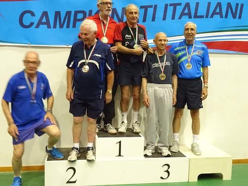 Il podio con Michele Iannone