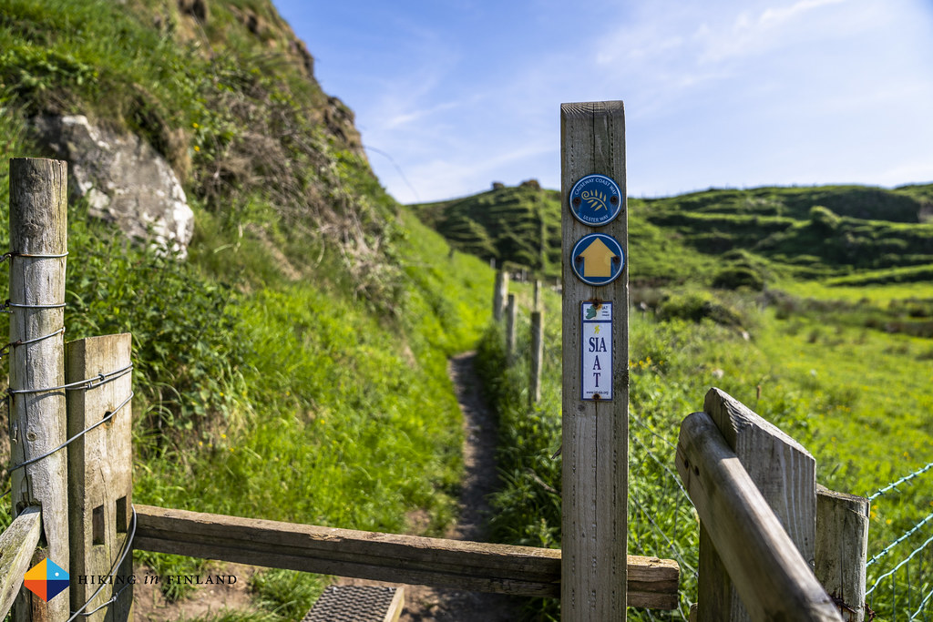 Causeway Coast Way Sign