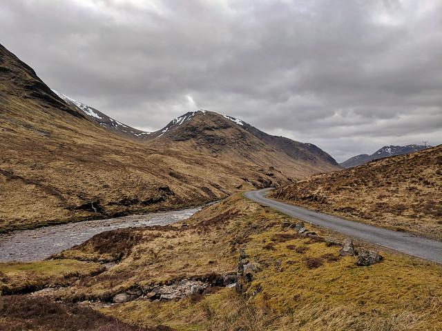 Glen Etive drive