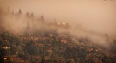 Puesta de Niebla