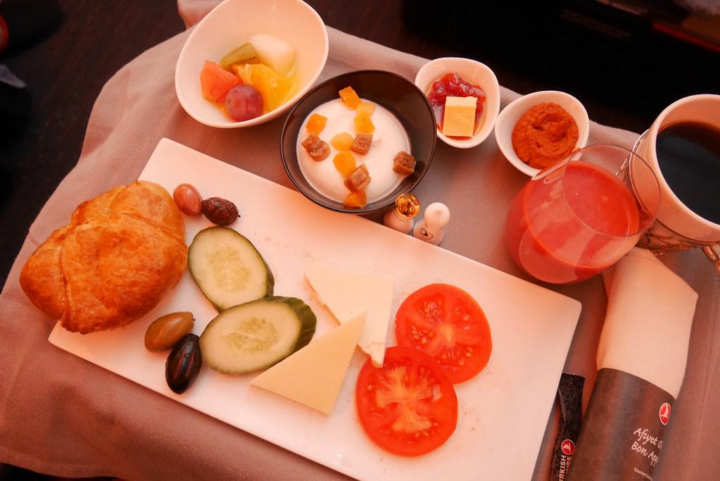 土耳其航空商務艙早餐