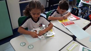 Português e Matemática - 1º ano A (mar/2018)
