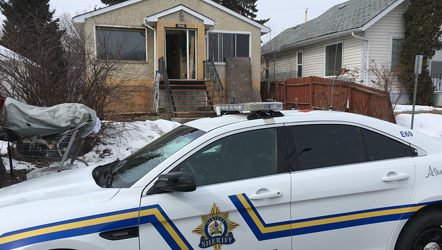 Sheriffs close Edmonton drug house