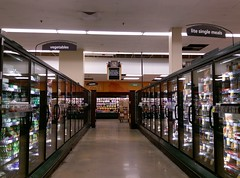 Aisle 12 (and a much smaller barn!) at the Trinity Commons Kroger