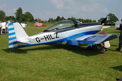 G-HILZ Vans RV-8 (PFA 303-14471) Popham 080608