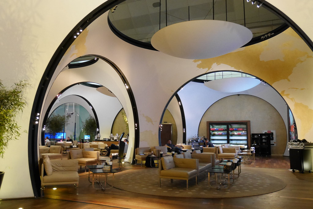 土航CIP Lounge電視區
