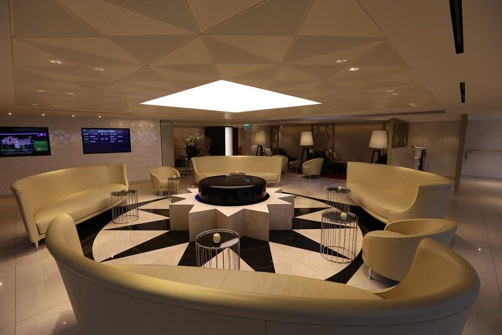 Qatar lounge at Paris CDG 35