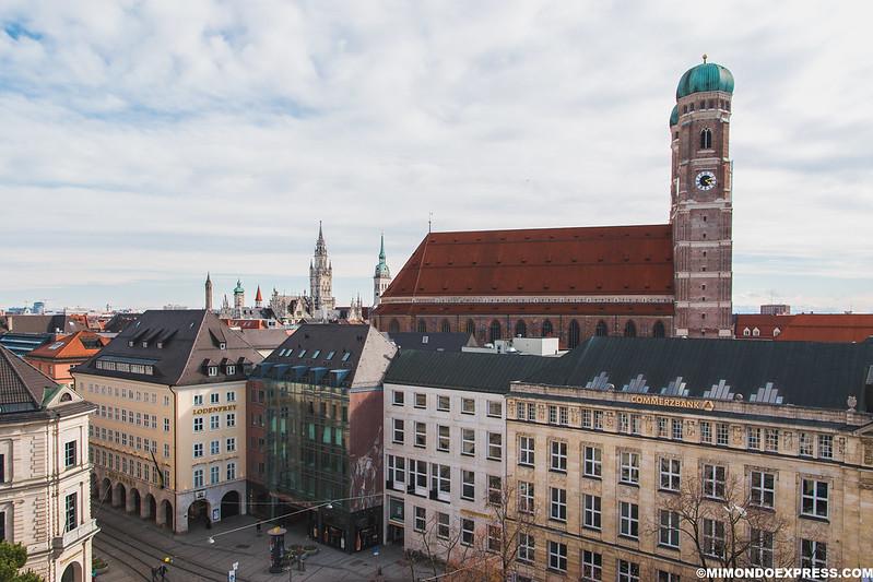 Vistas desde el Hotel Bayerischer Hof
